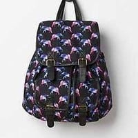 Purple Elephant Mini Backpack