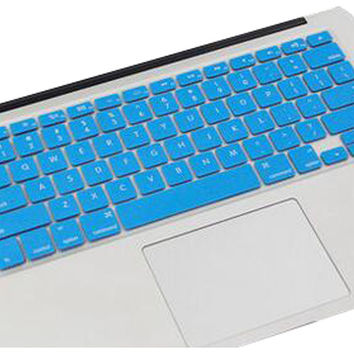 Keyboard Decal Macbook Keyboard Stickers Skin Logos Cover Blue