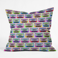 Tape it Rainbow Throw Pillow - 20x20 – Graffiti Beach - Indie Brands Revealed