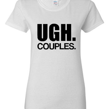 UGH COUPLES Funny Printed Singles Shirt Makes A Hilarious Gift AvailableFunny Couples T Shirt Great Gift Idea