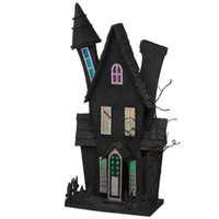 2 Haunted Houses - Led Lighted