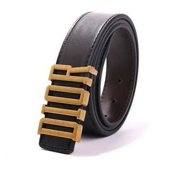 Dior Unisex Fashion Personality Classic Multicolor Metal Needle Buckle Belt