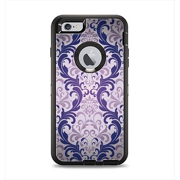 The Royal Purple Laced Wallpaper Apple iPhone 6 Plus Otterbox Defender Case Skin Set