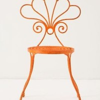 LaVersha Chair, Orange | Anthropologie
