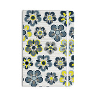 "Jolene Heckman ""Blue Folksy"" Yellow Gray Everything Notebook"