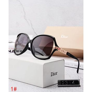 Dior Stylish Ladies Elegant Summer Sun Shades Eyeglasses Glasses Sunglasses 1# I12883-1