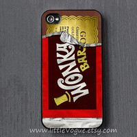 Wonka chocolate iPhone Case, iphone cover, iPhone 4 case, iPhone 4s case, iPhone 5 case, iPod touch 4 case, ipod touch 5 case