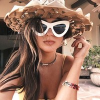 Polarized Sunglasses Women 2017 Oversized Butterfly Cat Eye Sunglasses Cat Eye Sunglasses Women Glasses Kurt Cobain