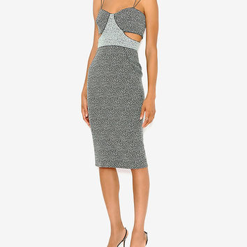 Jonathan Simkhai EXCLUSIVE Cut Out Speckle Dress | Shop IntermixOnline.com