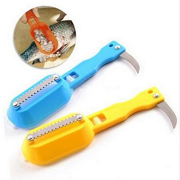 High quality Practical Scale Scraper Clam Opener for Cleaning Scraping Fish Kitchen Accessories Cooking Tool