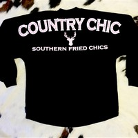 Country Chic Spirit Jersey Black