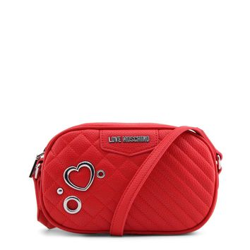 Love Moschino Jc4078Pp16Ll Women Red Crossbody Bags