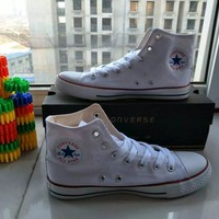 """Converse Chuck Taylor All Star"" Unisex Sport Casual High Help Shoes Canvas Shoes Couple Classic Cloth Shoes"