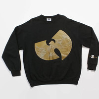 Vintage 90s WU-TANG Sweatshirt / 1990s Enter The 36 Chambers Wu Wear Sweatshirt XL