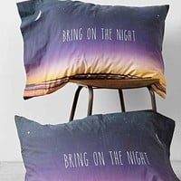 Bring On The Night Pillowcase Set- Purple One