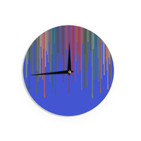 "Trebam ""Vosak"" Blue Red Wall Clock"