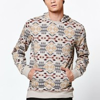 Tate Long Sleeve Hooded Shirt