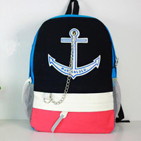 Fashion Creative Anchor backpack Bag