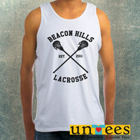 Beacon Hills Lacrosse Logo Clothing Tank Top For Mens