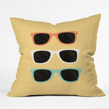 Allyson Johnson Summer Shades Throw Pillow