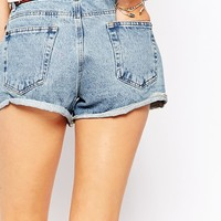 Pimkie Highwaist Mom Denim Shorts