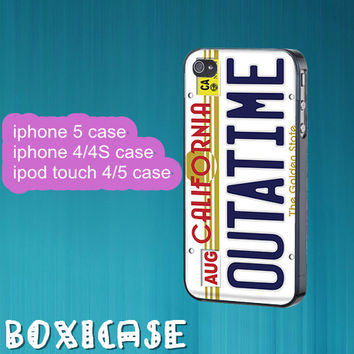 Outatime--iphone 4 case,iphone 4s case,iphone 4 cover,iphone 5 case,iphone 5 cases,ipod touch 4 case,ipod touch 5 case,cute iphone 5 case.