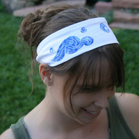 Van Gogh's Starry Night Headband - FREE SHIPPING