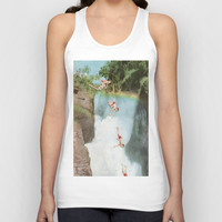 Diving Board Unisex Tank Top by Ben Giles