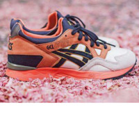 """ASICS GEL LYTE ""TRENDING Sneaker running shoes  Sports Shoes orange"