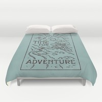 Time For Adventure Duvet Cover by WEAREYAWN