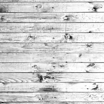 Gray White Grunge Wood Floor Backdrop - 6320
