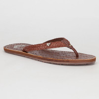 Roxy Cirque Womens Sandals Brown  In Sizes