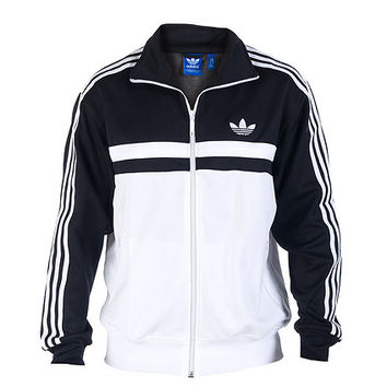ADI ICON TRACK JACKET - Black - adidas