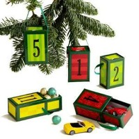 Advent Treasure Box Ornaments