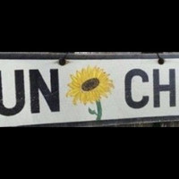 Sun Flower Child Sign