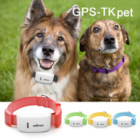 Pet Accessories 4 Colors TK-STAR Pet GPS/GSM Tracker Global Real Time Locator for Cats Dogs with Collar