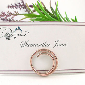 Wedding Table Name Card Holder, Place Card Holders, Set of 6, Wedding Holder Stands, Decorations, Accessories