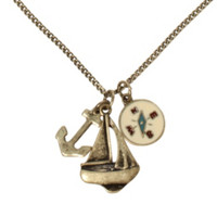 LOVEsick Nautical Charm Necklace
