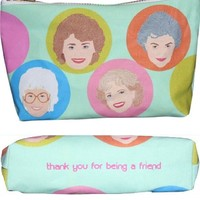 Golden Girls Makeup Bag – Pop Icon Zipper Pouch