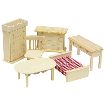 Bulk Doll House Wooden Furniture at DollarTree.com
