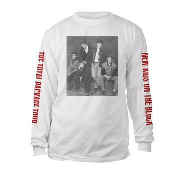 New Kids On The Block Official Store | Vintage photo long sleeve tee