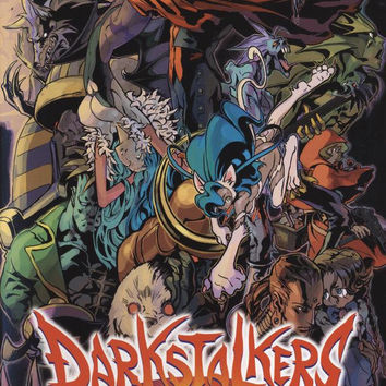 Darkstalkers Chronicle The Chaos Tower - PSP (Very Good)