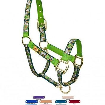 Personalized Name Lucky Horse High Fashion Horse Halter