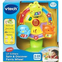 VTech Baby Lil' Critters Spin Discover Ferris Wheel Educational Toy, christmas