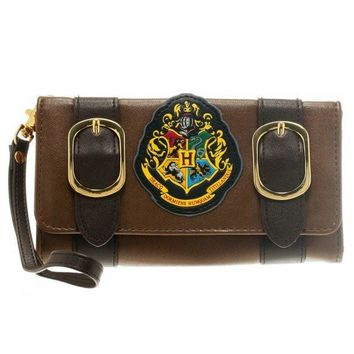 Harry Potter Hogwarts Flap Wallet