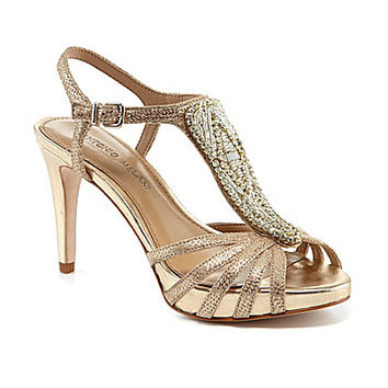Antonio Melani Nadelle Platform Jeweled Dress Sandals | Dillards.com