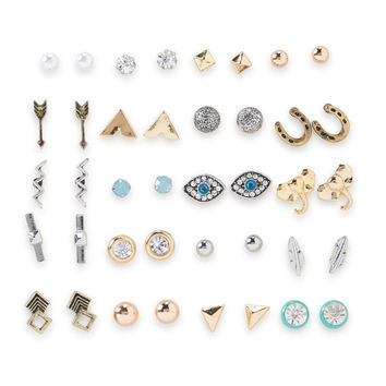 Mixed Stud Earring 20-Pack