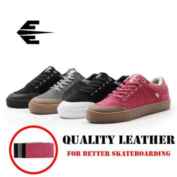 Quality JEANKC Spring/Winter Canvas Sneakers Men Women Professional Skateboarding shoes with Anti-Fur Board Shoes for Road skate
