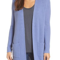 Halogen® Long Ribbed Cardigan | Nordstrom