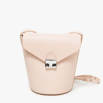 Loeffler Randall / Flap Bucket Bag in Sand